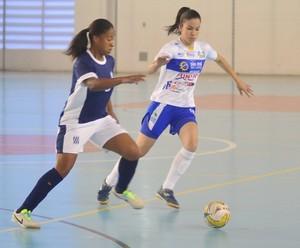 Futsal feminino de São José dos Campos nos Jogos Abertos do Interior (Foto: Tião Martins / PMSJC)