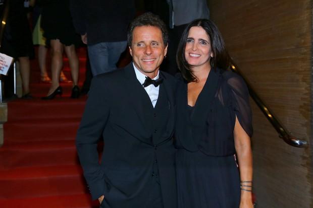 Tony Bellotto e Malu Mader (Foto: Alex Palarea e Marcello Sá Barreto / AgNews)
