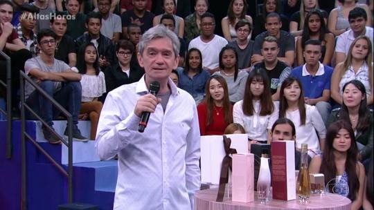 Serginho Groisman mostra como usar aplicativo para presentear sua mãe