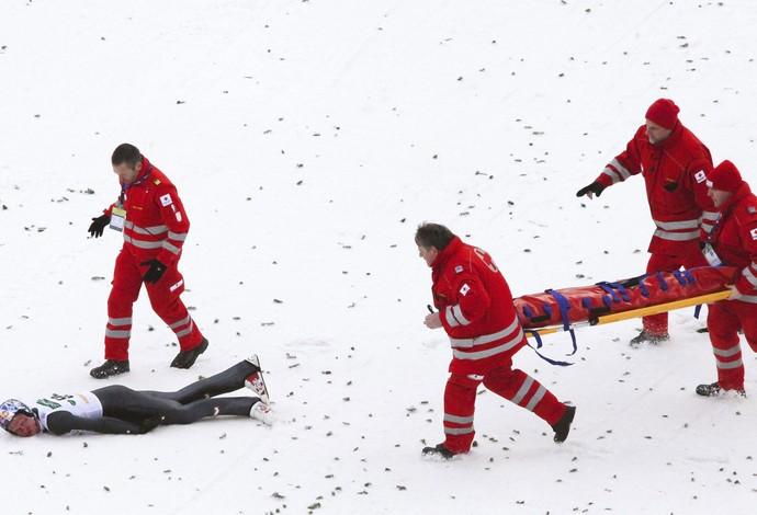 Thomas Morgenstern equi acidente (Foto: EFE)