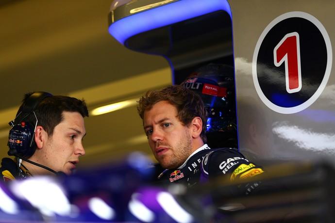 Sebastian Vettel treino GP de Abu Dhabi RBR (Foto: Getty Images)