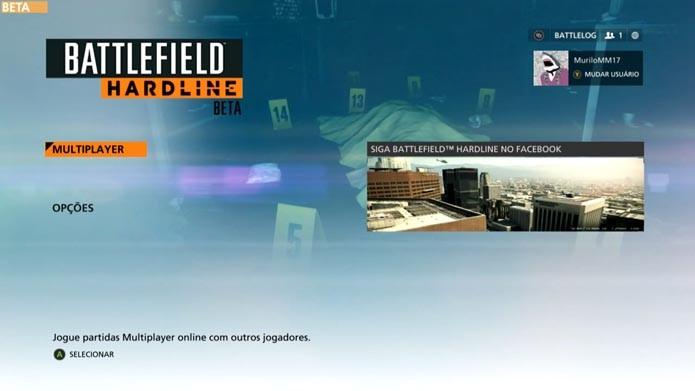 Battlefield Hardline: aprenda a personalizar as classes e armas do game (Foto: reprodução/Murilo Molina)