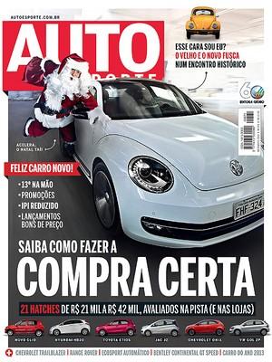 Capa da revista autoesporte de dezembro (Foto: Autoesporte)