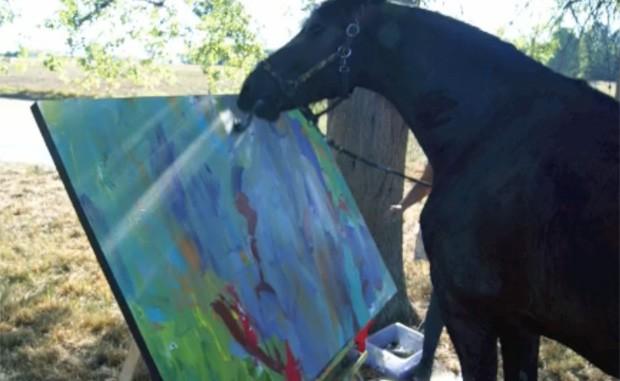 Obras de Justin custam, no mínimo, R$ 300, mas já chegaram a ser vendidas por R$ 5 mil (Foto: Reprodução)