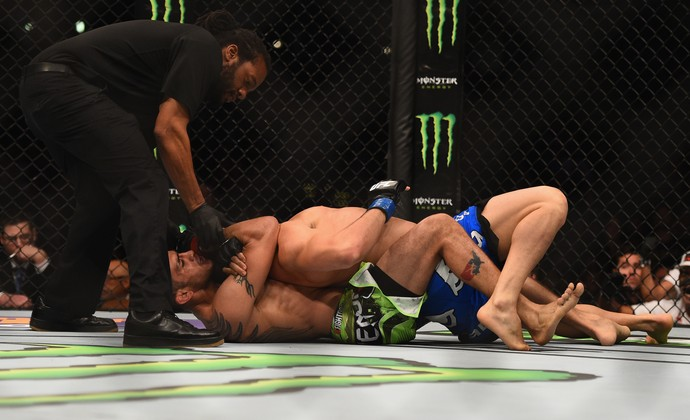 Gleison Tibau Tony Ferguson UFC 184 (Foto: getty images)