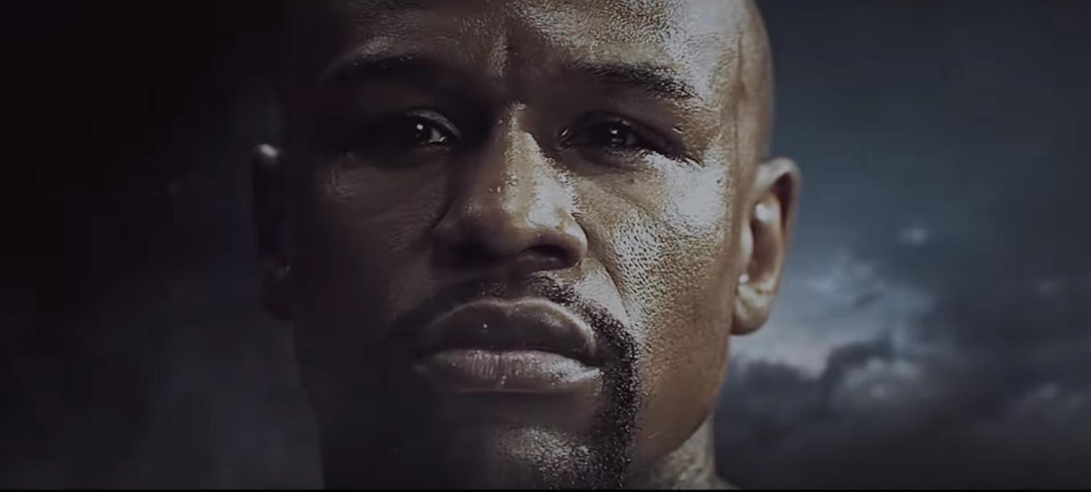 Trecho do trailer não oficial da luta entre Floyd Mayweather e Connor McGregor (Foto: Reprodução/Youtube)