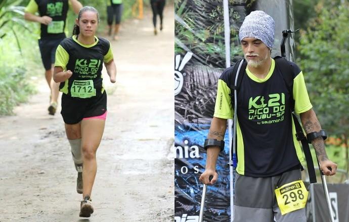 Atletas deficientes k21 euatleta (Foto: Divulgação)