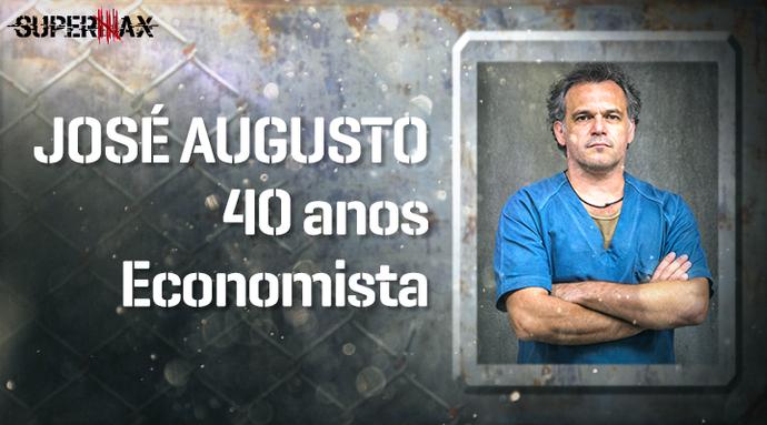 Supermax: perfil do participante José Augusto (Foto: Gshow)