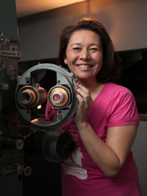 Taís Viana é engenheira e co-idealizadora do CineMaterna (Foto: Divulgação)