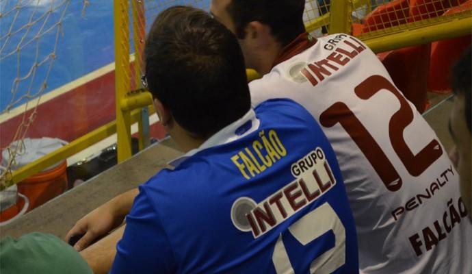 """Torcedores respeitam """"legado"""" de Falcão, mas apostam em tri do Orlândia na Liga Futsal (Foto: Rodolfo Tiengo)"""