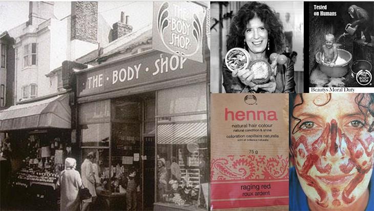 Jennifer Whitehorn apresentou algumas imagens históricas da The Body Shop (Foto: Reprodução)