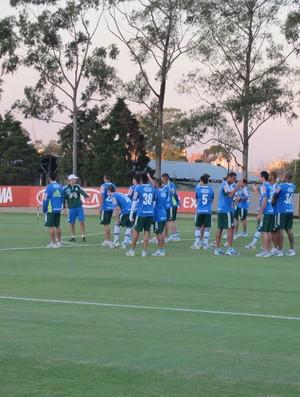 treino Palmeiras (Foto: Gustavo Serbonchini)