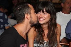 Paulo Vilhena e Thaila Ayala em evento no Rio (Foto: Anderson Borde/ Ag. News)