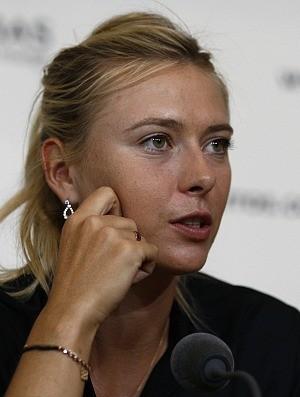 Maria Sharapova tênis Roland Garros entrevista (Foto: AP)