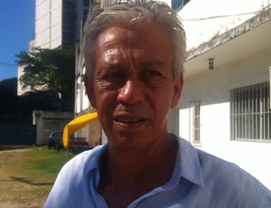Moreno, técnico do Aracruz (Foto: Bruno Marques/Globoesporte.com)