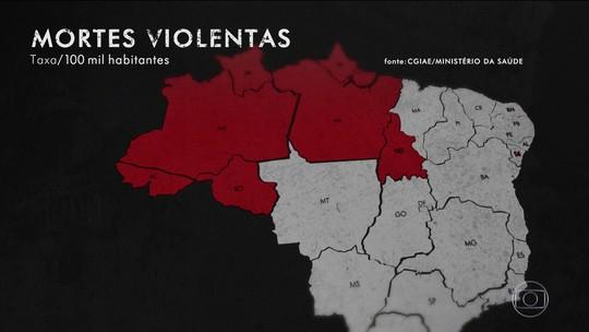 Violência se torna epidemia e registra recordes anuais de mortes no Brasil