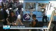 Polícia investiga grupo que promove atos de vandalismo no metrô do Rio