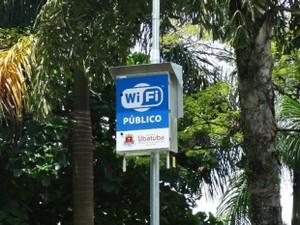 Ubatuba instala 13 pontos gratuitos de acesso Wi-Fi à internet (Foto: Divulgação/ Prefeitura de Ubatuba)