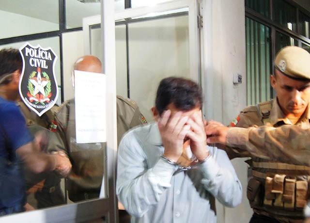 Subtenente é suspeito de matar a esposa em Imbituba (Foto: Alan Pedro/Divulgação)
