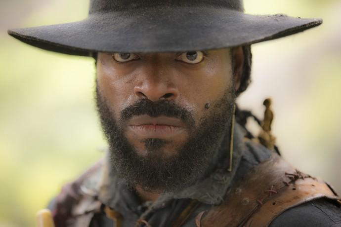 Thiago Thomé será o pirata Hassan em 'Novo Mundo' (Foto: Ellen Soares/ Gshow)