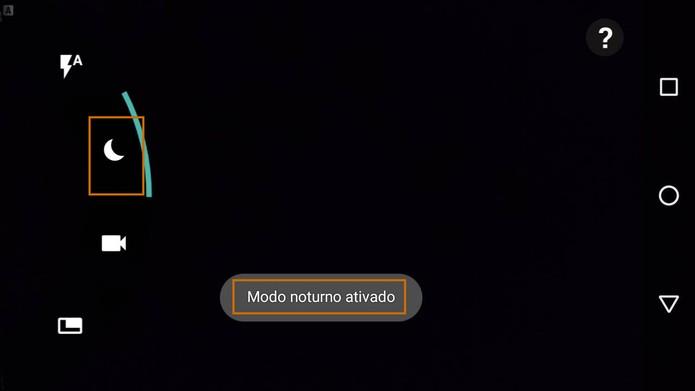 Ativando o modo noturno no Moto G 3 (Foto: Reprodução/Barbara Mannara)