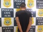 Homem é preso suspeito de integrar organização criminosa em Rio Branco