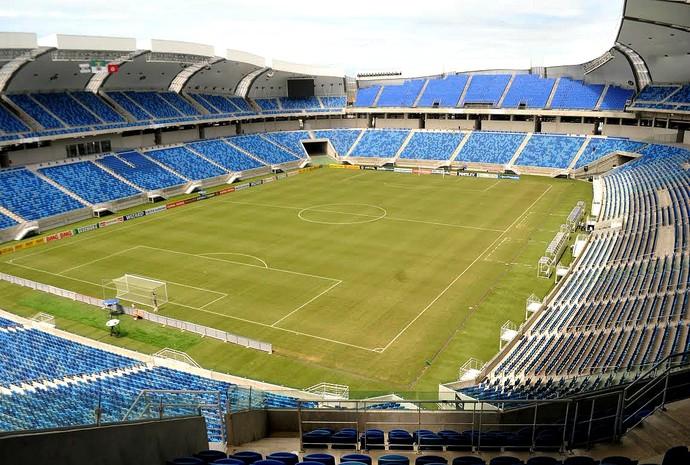 Arena das Dunas Santa Cruz x América-RN (Foto: Aldo Carneiro / Pernambuco Press)