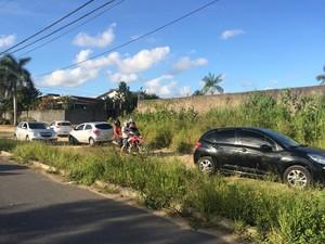 Trânsito foi desviado por causa do acidente na Santa Amélia (Foto: Carolina Sanches/G1)