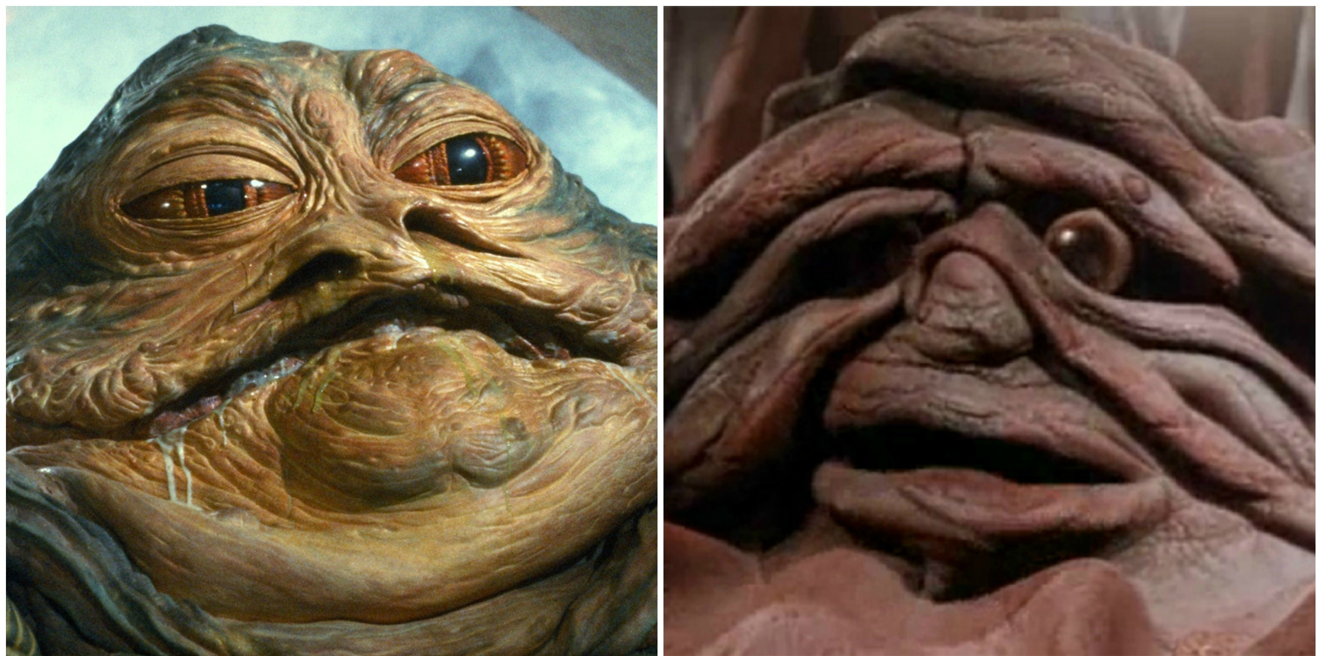 Jabba e Lama são parentes próximos que a ficção deu para Mr. Blobby (Foto: Reprodução)