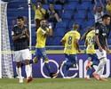 Momo faz gol e põe Las Palmas ao lado de Barcelona e Real no topo