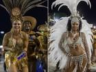 Divas! Viviane Araújo e Cris Vianna brilham em gravação na Marquês de Sapucaí