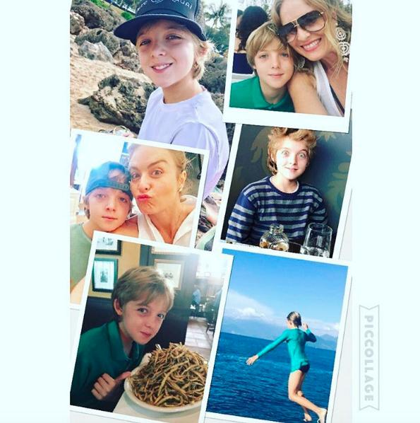Joaquim foi homenageado pela mãe (Foto: Reprodução Instagram)