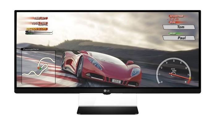 LG anuncia monitor curvo 4K para games antes da CES 2015 (Foto: Divulgação)