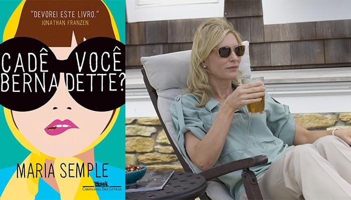 Cate Blanchett viverá Bernadette no longa baseado no livro de Maria Temple (Foto: Divulgação)