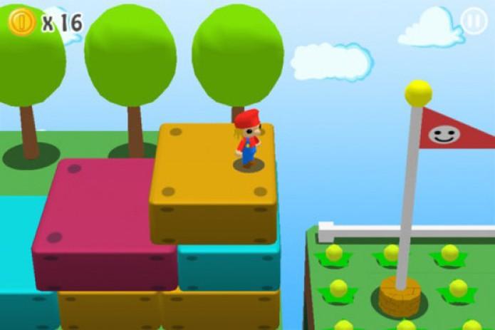 3D Cartoon Land: Safari é uma cópia duvidosa do clássico Super Mario Land (Foto: Divulgação)