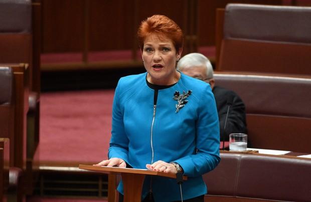'Corremos o risco de sermos inundados por muçulmanos', disse Pauline Hanson (Foto: AAP/Mick Tsikas/Reuters)