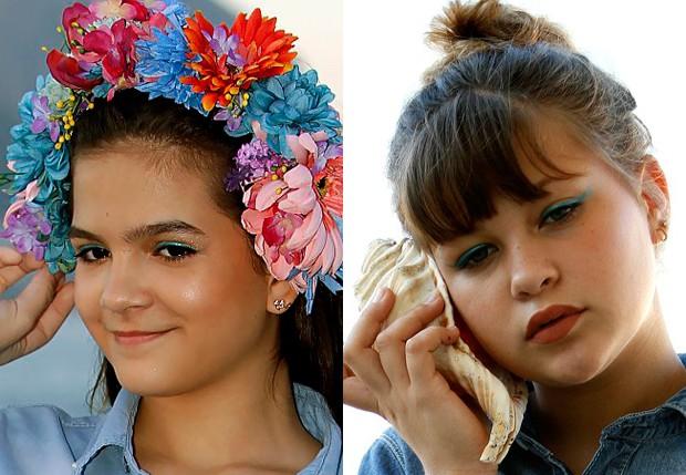 Mel Maia e Nikki Meneghel (Foto: Marcos Ferreira/Brazil News)