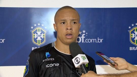 Rio Branco-ES faltou caprichar nas finalizações, diz atacante Tiquinho