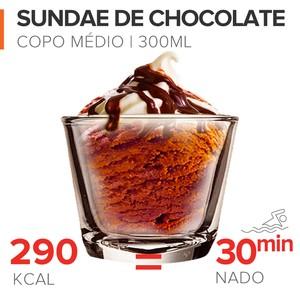 EuAtleta Caloria x Queima_Sandae de Chocolate (Foto: Eu Atleta | Arte Info)