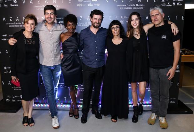Sandra Corveloni, Beto Amaral, Jai Baptista, Adriano Carvalho, Daniela thomas e Luana Nastas  (Foto: ROBERTO FILHO / BRAZIL NEWS)