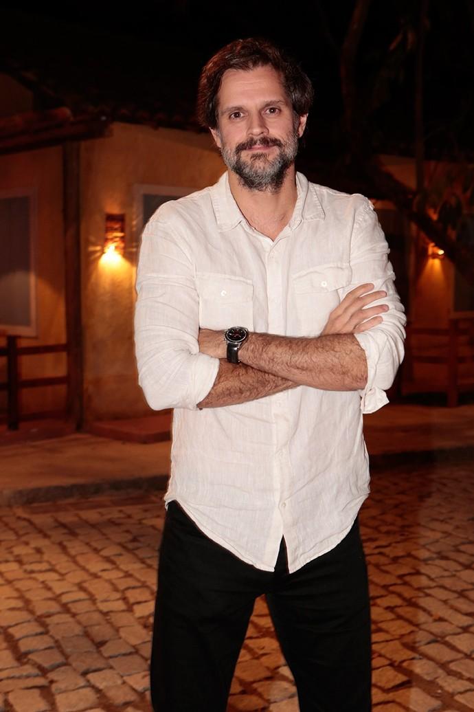 O diretor artístico Leonardo Nogueira também marcou presença (Foto: Felipe Monteiro/Gshow)