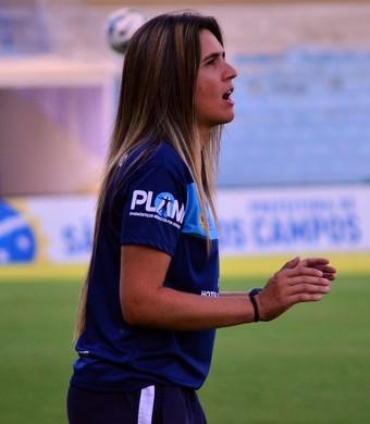 Emily Lima São José futebol feminino (Foto: Danilo Sardinha/GloboEsporte.com)