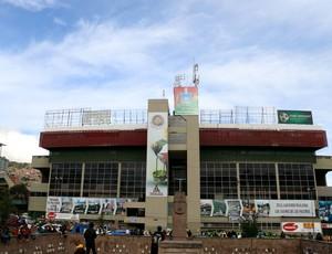 Estádio Hernando Siles, em La Paz (Foto: Diego Guichard)