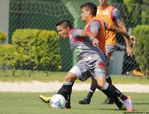 Figueirense inicia preparação para jogo contra o Joinville no Scarpelli  (Foto: Luiz Henrique, divulgação FFC)