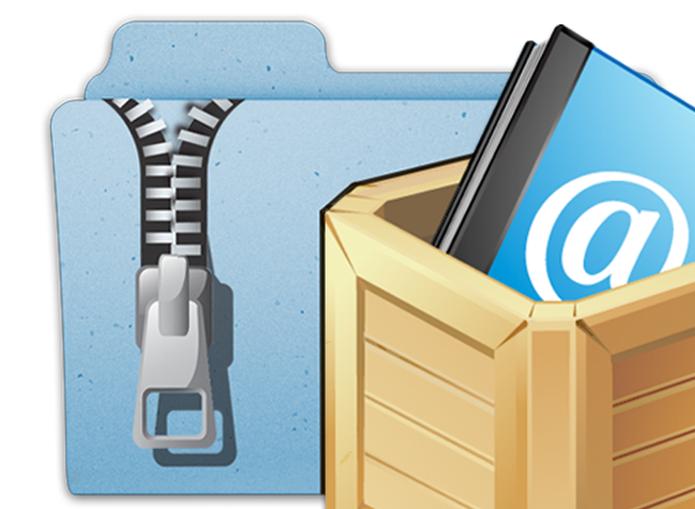 Arquivos zip e rar precisam ser descompactados antes de abrir; saiba mais (Foto: Reprodução/iTunes)