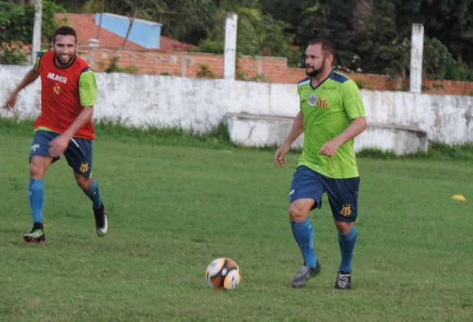 Daniel Barros é umas das voltas do Sampaio para jogo contra o Cordino (Foto: Sampaio /  Divulgação)