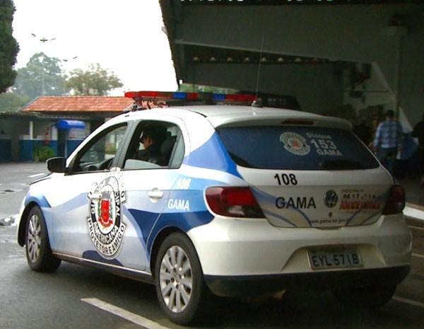 Locadora recolheu 10 dos 20 carros da Guarda Municipal em Americana, SP (Foto: Reprodução EPTV)