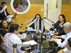 No AP, Gilvam Borges falta e é alvo  de ataques em debate para o Senado
