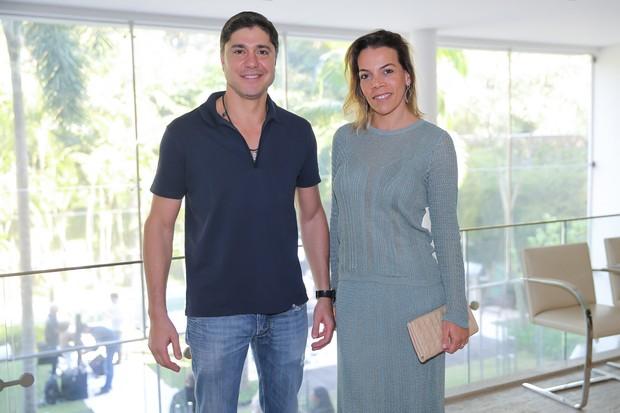 Regina Moraes e Sergio Waib (Foto: Manuela Scarpa/Brazil News)