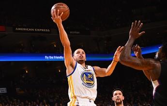 Curry, Curry, Curry! Astro comanda Warriors em vitória sobre Clippers